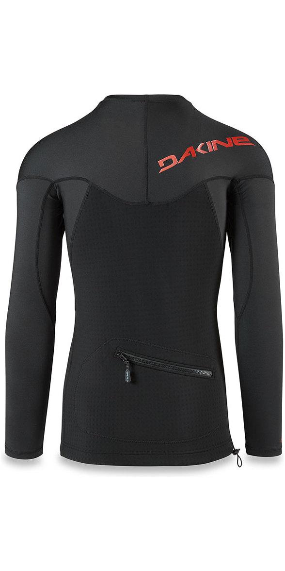 Dakine Storm Snug Fit Long Sleeve Rash Vest Black 10001666
