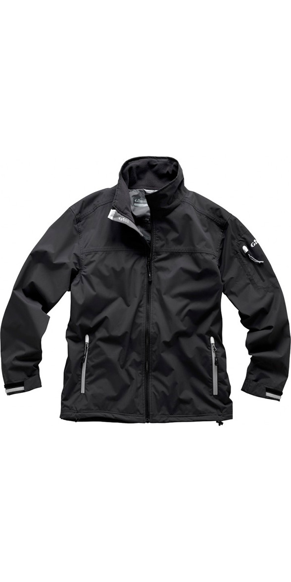 2017 Gill Men's Crew Jacket in Graphite 1041