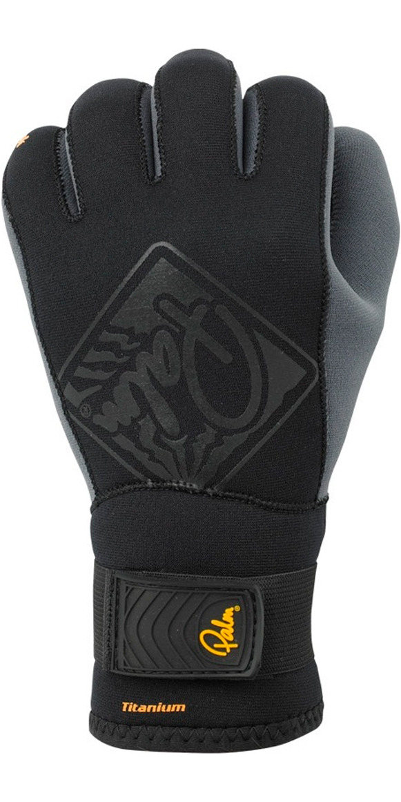 Palm 3mm Hook Neoprene Kayak Glove Black 10499