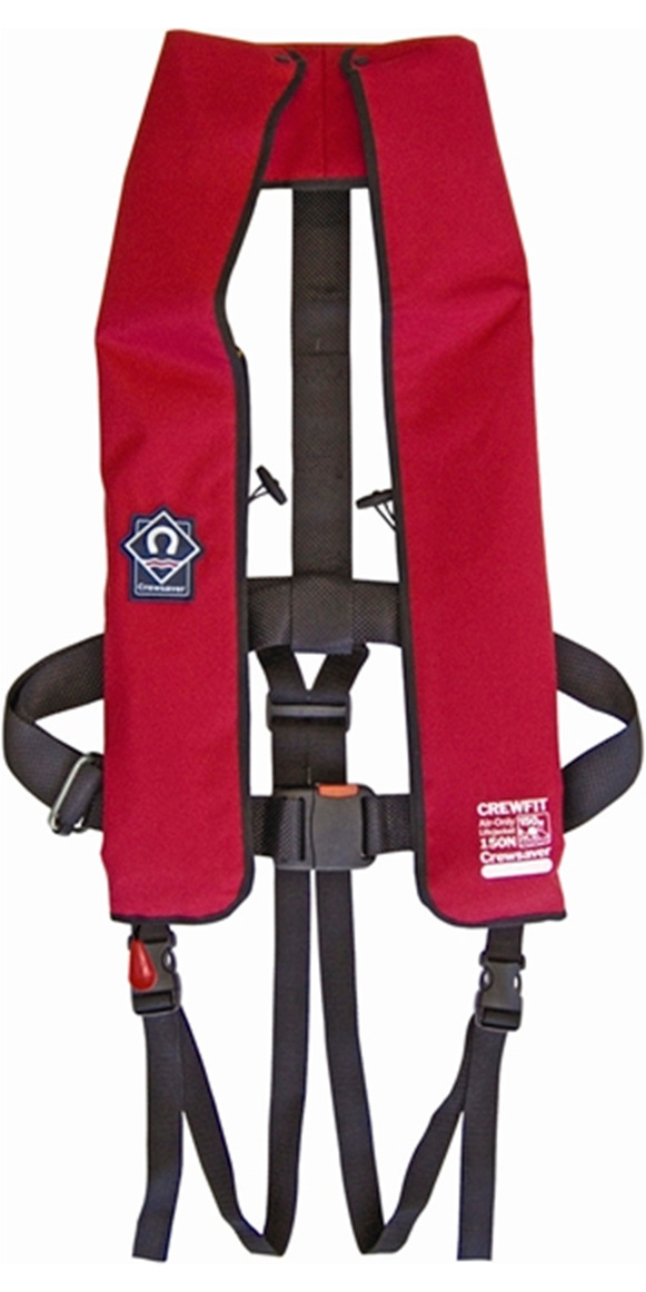 2016 Crewsaver Crewfit Lifejacket 150N Auto 1058-RADA RED