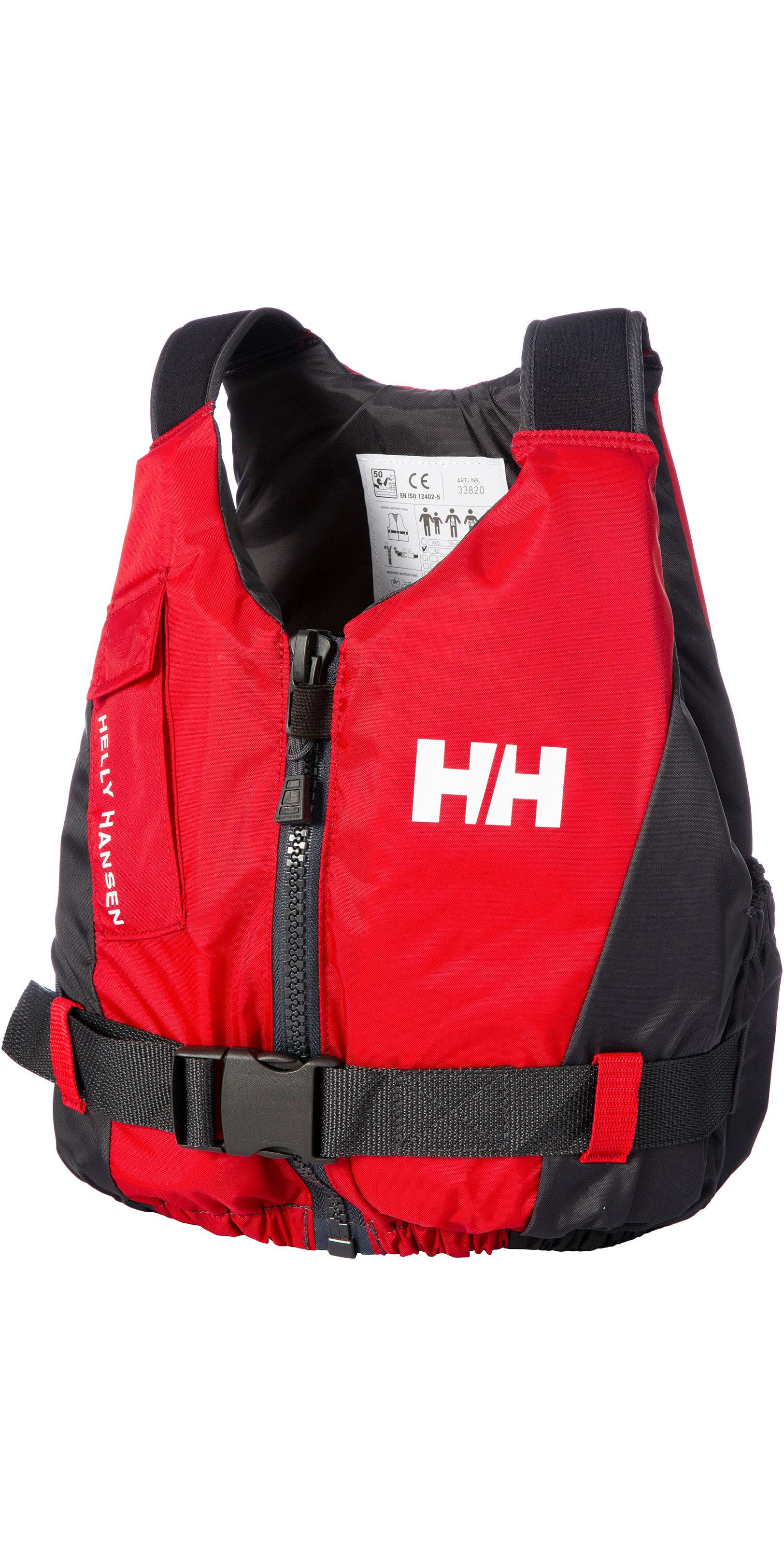 2019 Helly Hansen 50N Rider Vest / Buoyancy Aid 33820 - Red