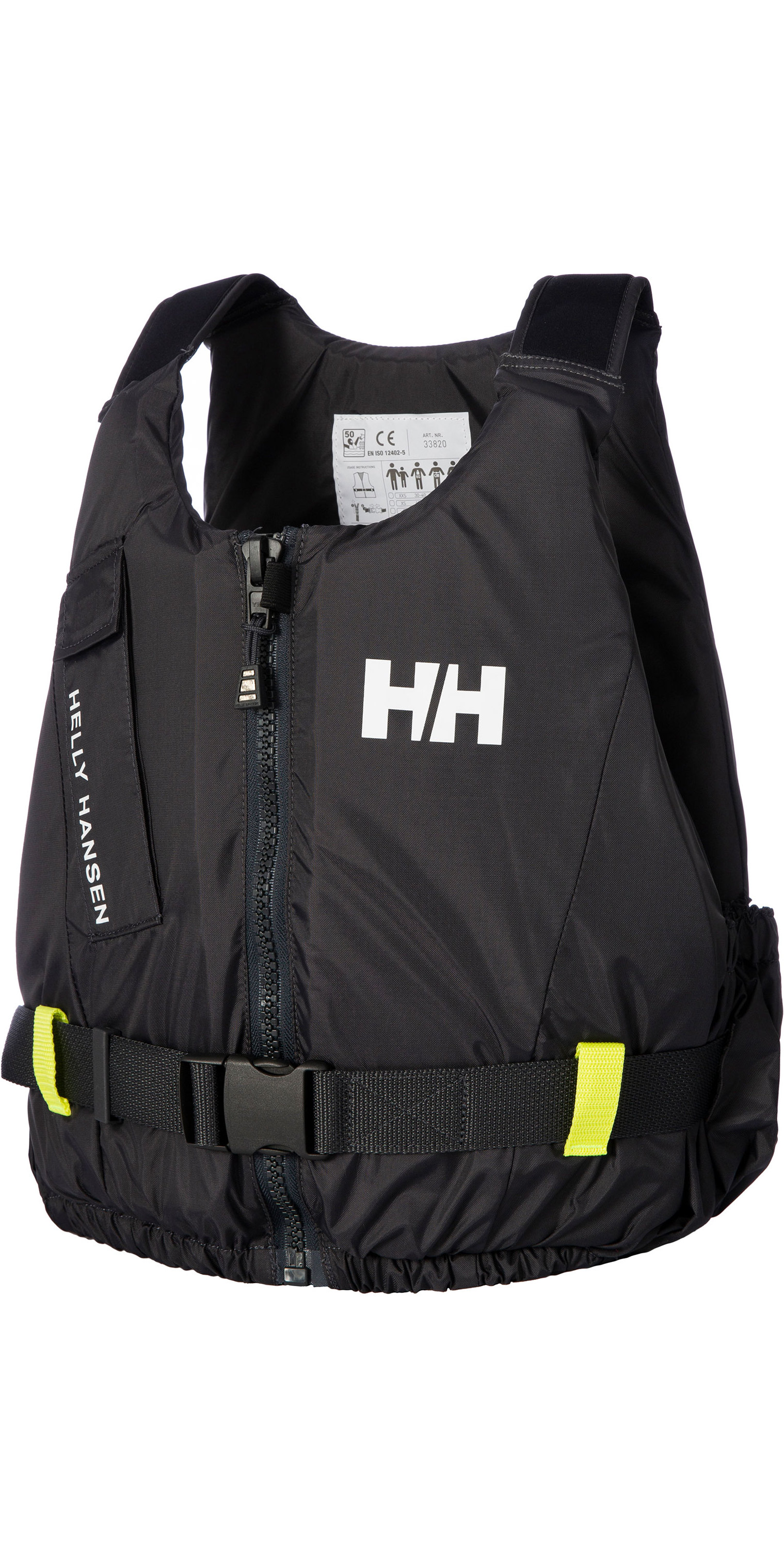 2020 Helly Hansen 50N Rider Vest / Buoyancy Aid 33820 - Ebony
