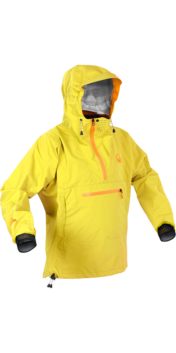 Palm Vantage Long Sleeve Touring Jacket YELLOW 11472