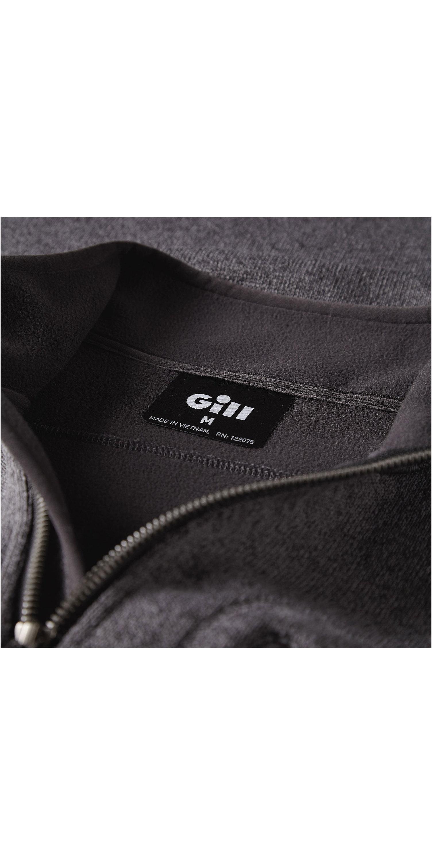 2019 Gill Mens Knit Fleece Ash 1492