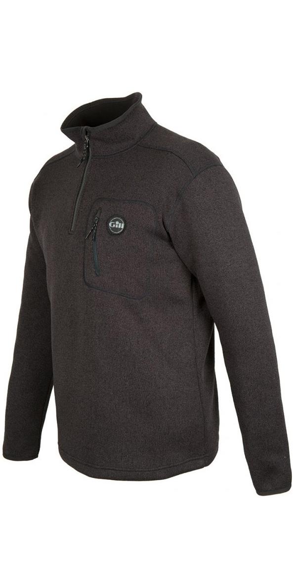 2019 Gill Mens Knit Fleece Graphite 1492
