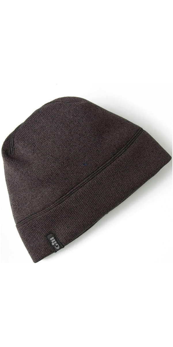 2019 Gill Knit Fleece Hat Graphite 1497