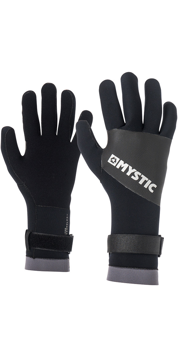 2018 Mystic 2mm Mesh Gloves Black 170170