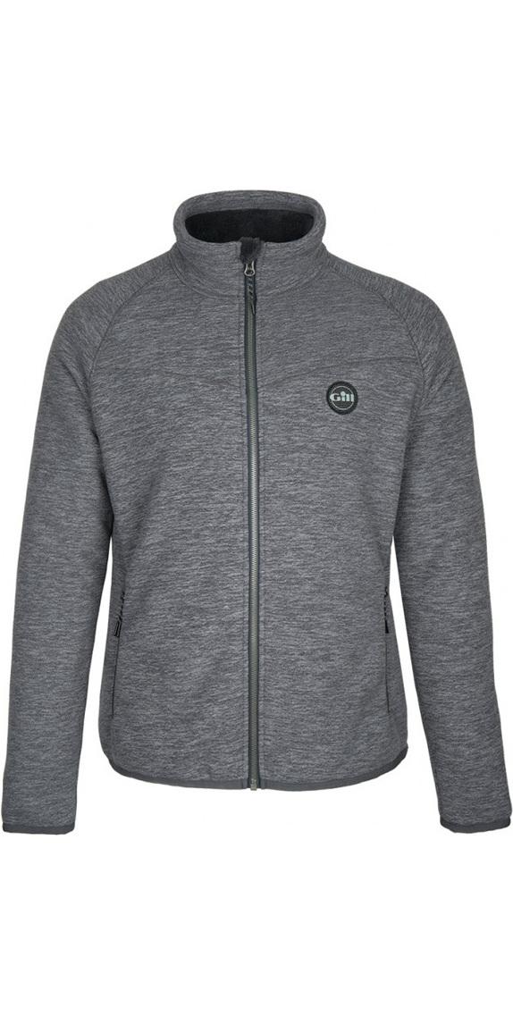 2019 Gill Mens Polar Fleece Jacket Graphite 1703