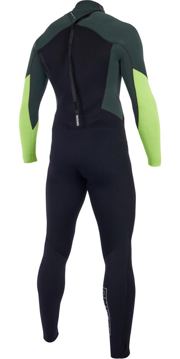 2019 Mystic Star 3/2mm GBS Back Zip Wetsuit Teal 180020
