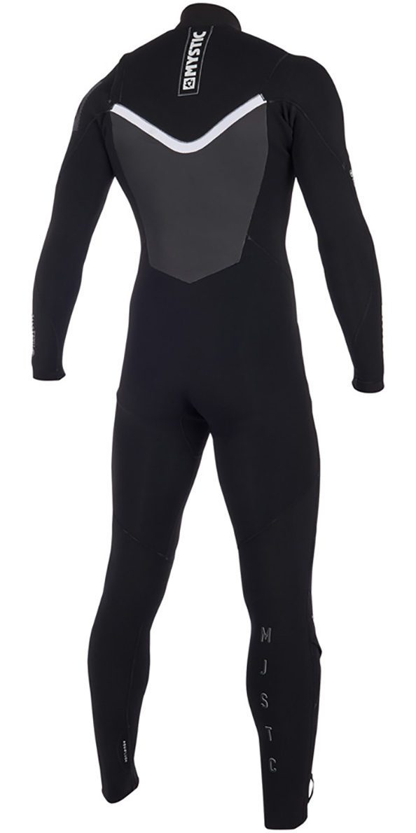 2019 Mystic Majestic Chest Zip Wetsuit 5/3mm Black 190000