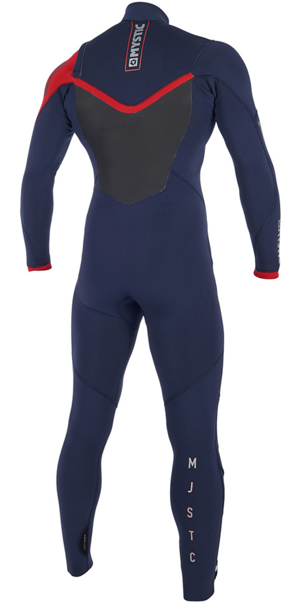 2019 Mystic Majestic Chest Zip Wetsuit 5/3mm Navy 190000