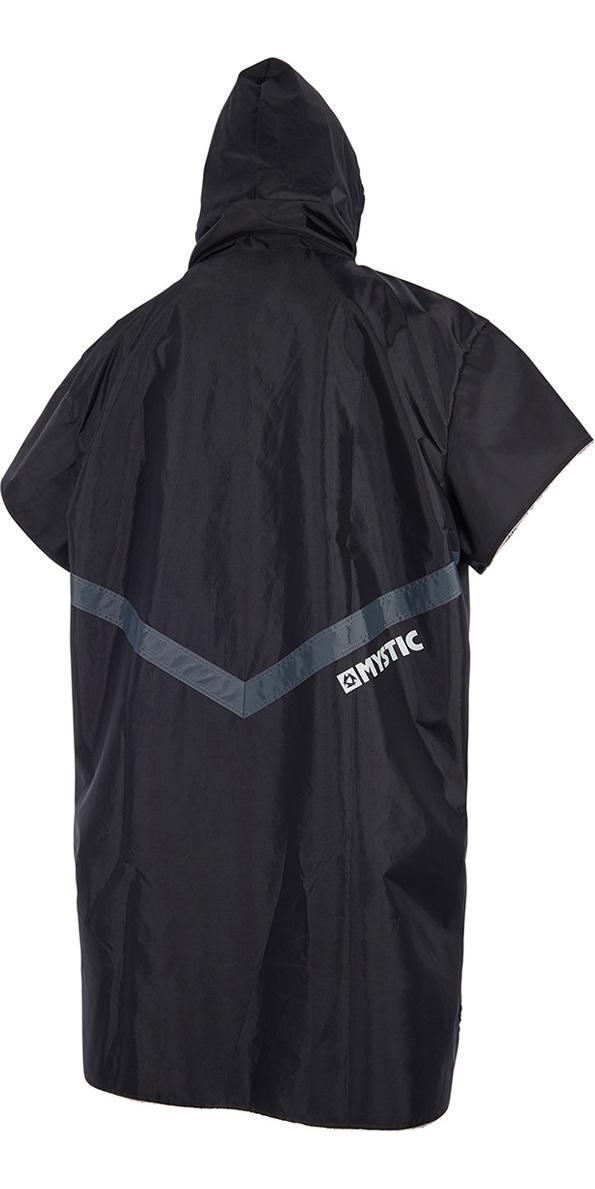 2019 Mystic Deluxe Poncho / Change Robe Black 190075