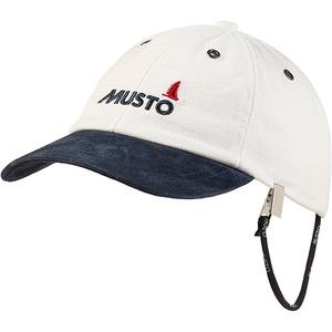 2021 Musto Evo Original Crew Cap Antique Sail White AE0191