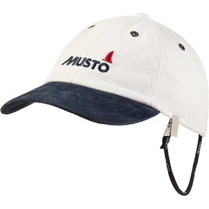 2020 Musto Evo Original Crew Cap Antique Sail White AE0191