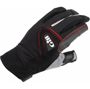 2020 Gill Championship Long Finger Sailing Gloves Black 7252
