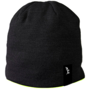 2019 Zhik Reversible Fleece Sailing Beanie Black / Hi-Vis BEANIE350