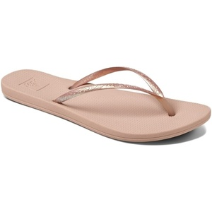 Reef Womens Escape Lux Metals Flip Flops Rose Gold RF0A3OL8RG