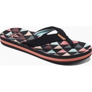 2019 Reef Kids Ahi Surf Sandals / Flip Flops Flag RF0A3ONL