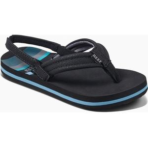 2019 Reef Kids Little Ahi Flip Flops Water Blue RF002345