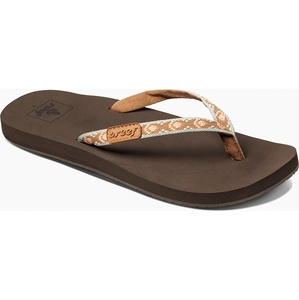 2019 Reef Womens Ginger Sandals / Flip Flops Brown / Peach RF001660