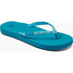 2019 Reef Womens Ginger Sandals / Flip Flops Tropical Aqua RF001660