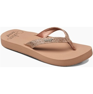 2019 Reef Womens Star Cushion Sandals / Flip Flops Almond RF001392