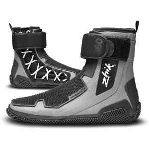 2020 Zhik ZhikGrip 2 Neoprene Hiking Sailing Boot BOOT360 - Grey / Black