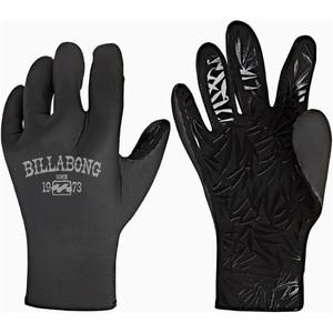 2019 Billabong Womens Furnace Synergy 2mm Neoprene Gloves Black Q4GL15