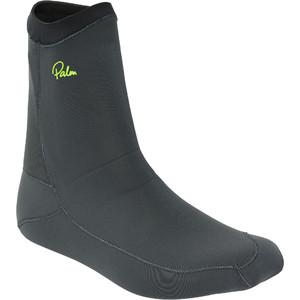 2021 Palm Index 1.5mm Neoprene Socks 12347 - Jet Grey