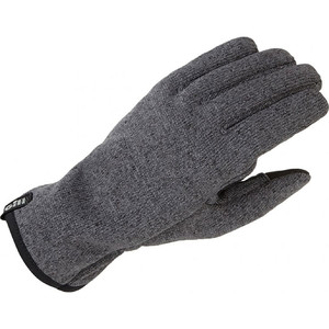 2021 Gill Knit Fleece Gloves 1495 - Ash