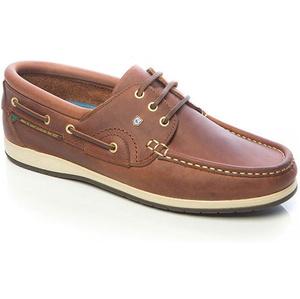 2021 Dubarry Commodore x LT Deck Shoes Chestnut 3723