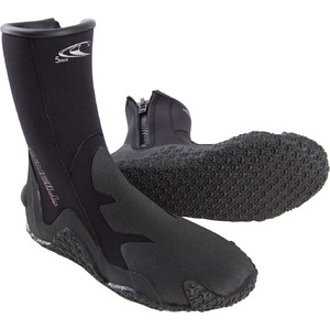 2020 O'Neill 5mm Zipped Dive Boots Black 3999