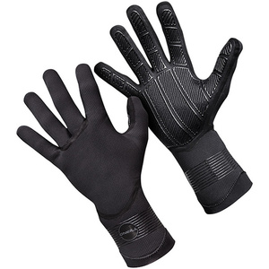 2019 O'Neill Psycho 1.5mm Double Lined Neoprene Gloves Black 5103