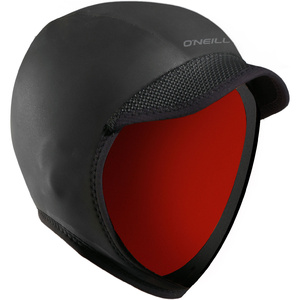 2019 O'Neill 3mm Squid Lid Neoprene Cap Black 5110