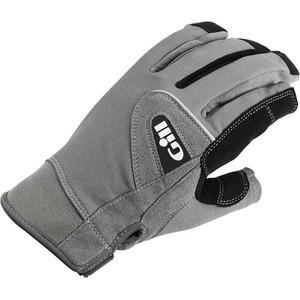 2021 Gill Junior Long Finger Deckhand Gloves 7053J - Black