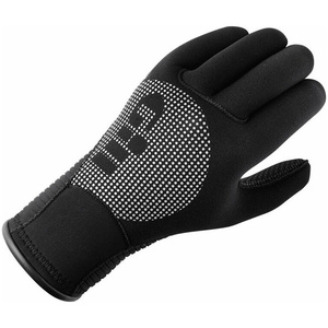 2020 Gill 3mm Neoprene Winter Gloves in BLACK 7672