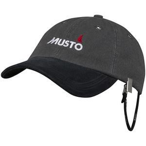 2021 Musto Evo Original Crew Cap Dark Grey AE0191
