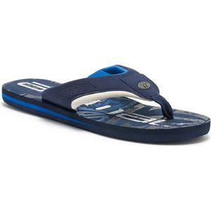 Animal Jekyl Logo Junior Boys Flip Flops FM8SN600 - Snorkel Blue