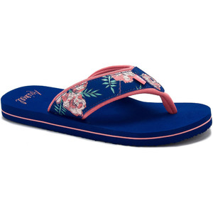 2020 Animal Womens Swish Upper AOP Flip Flops / Sandals FM0SS306 - Rouge Red