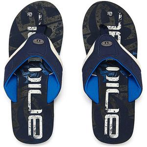 Animal Jekyl Logo Junior Boys Flip Flops Snorkel Blue FM8SN600