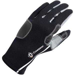 2021 Crewsaver 3mm Tri-Season Gloves Black 6952