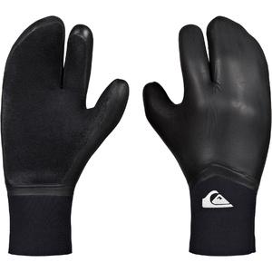 2019 Quiksilver Highline 5mm Neogoo 3 Finger Gloves Black EQYHN03034