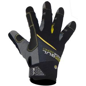 2021 Gul Junior CZ Summer Full Finger Gloves Black GL1239-B6