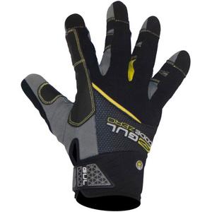 2021 Gul CZ Summer Full Finger Gloves Black GL1239-B6