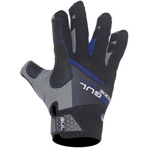 2021 Gul Junior CZ Winter Short Finger Glove Black GL1242-B6