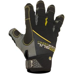 2021 Gul CZ Summer Short Finger Glove Black GL1243-B6
