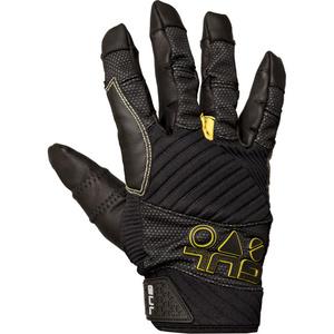 2020 Gul EVO Pro Full Finger Sailing Glove Black GL1301-B4