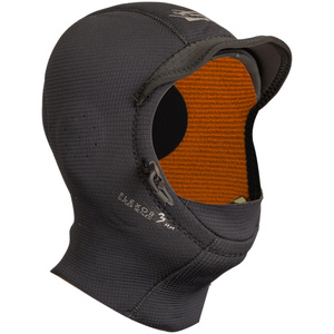 2019 GUL 3mm Peaked Surf Hood BLACK HO0312-B3