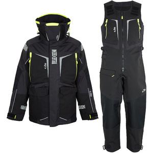 2020 Gill Mens OS1 Offshore Ocean Jacket & Trouser Combi Set - Graphite