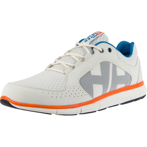2021 Helly Hansen Ahiga V4 Hydropower Sailing Shoes 11582 - Off White / Racer Blue